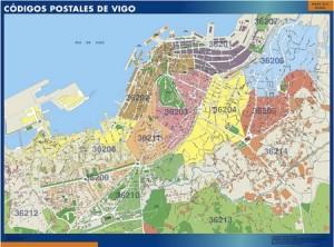 Vigo tienda mapas posters pared for Codigo postal calle salamanca valencia