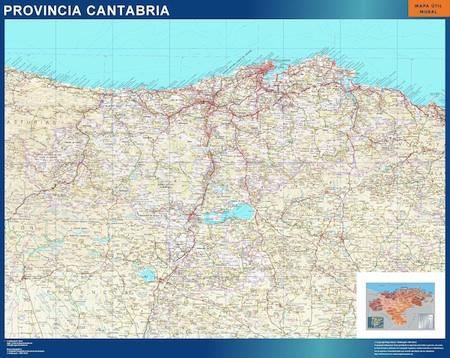 cantabria ign Mapa Cantabria