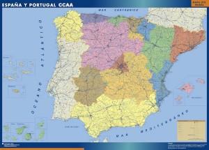 Mapas espanaautonomias 300x215 España
