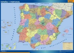 Mapas espanapolitico 300x214 España