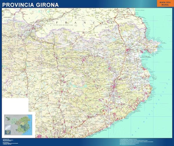 Mapas girona ign Girona