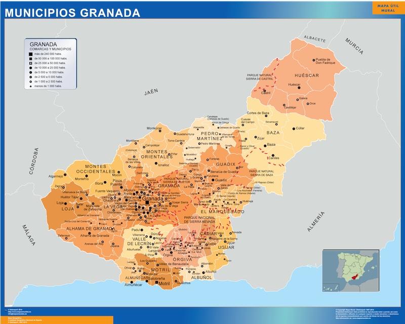 municipios granada