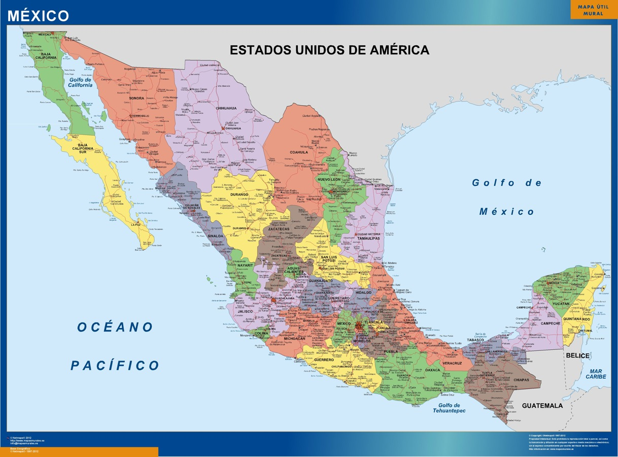 mapa mexico