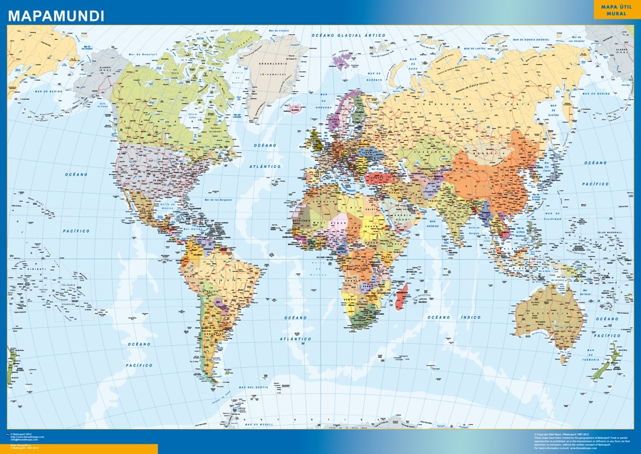 mapa magnetico