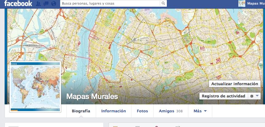 Facebook Mapas