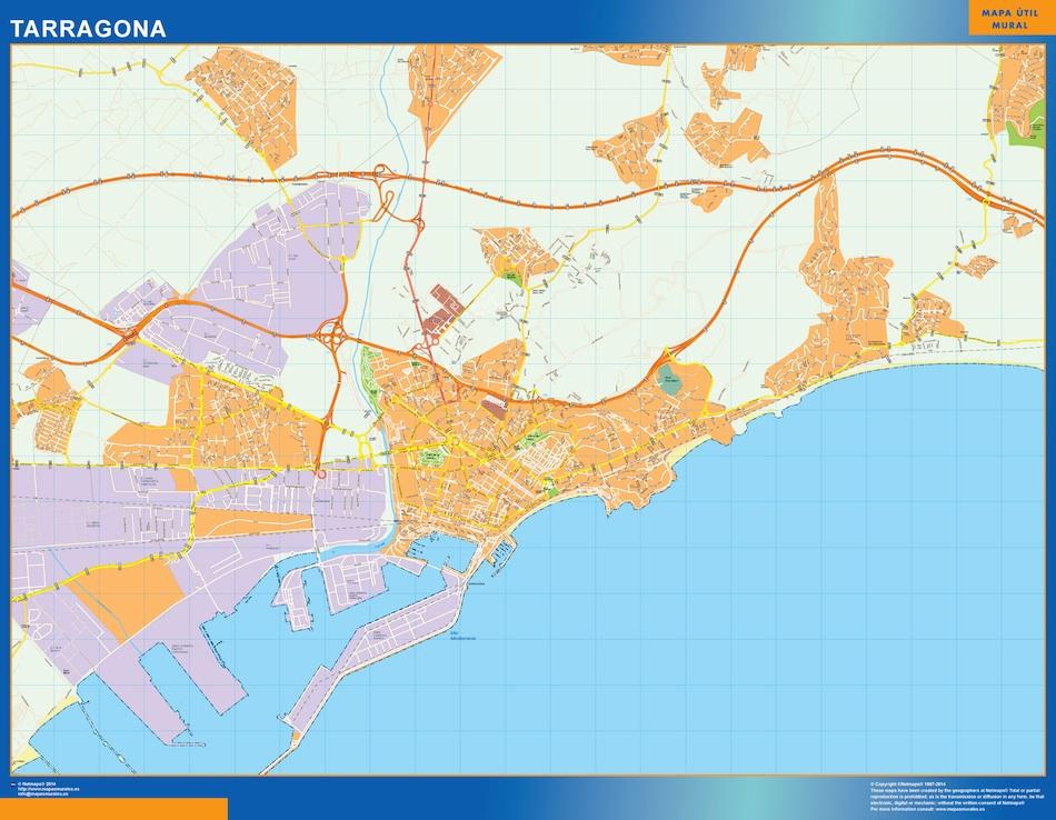 mapa tarragona