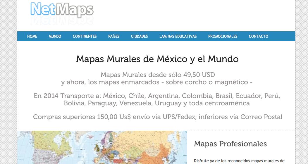 mapas murales mexico