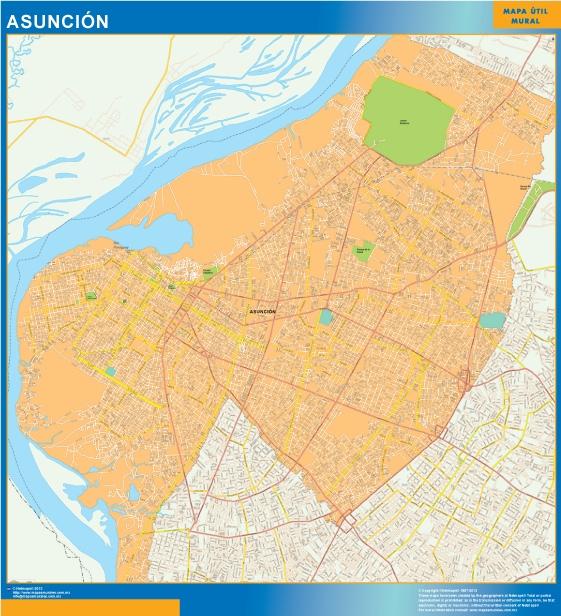 mapa asuncion