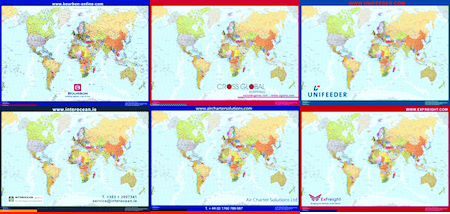 mapas empresas logistica