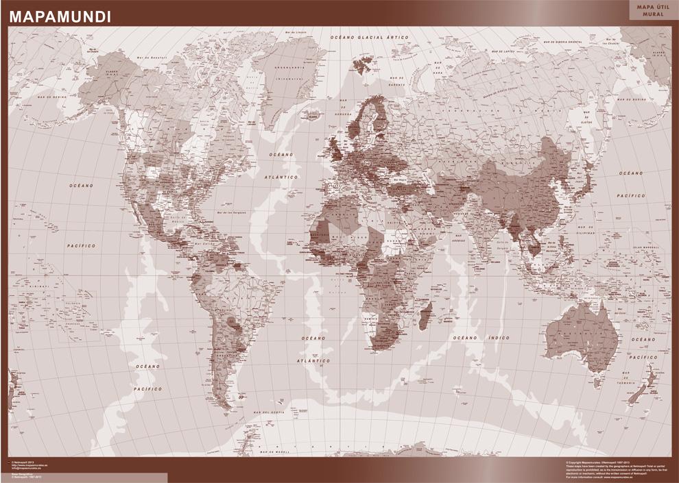 mapamundi español