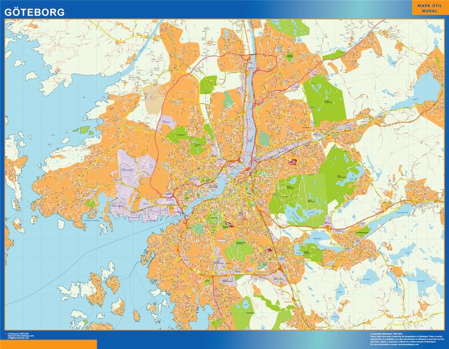 Goteborg mapa