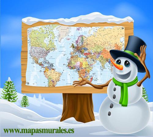 comprar mapas navidad
