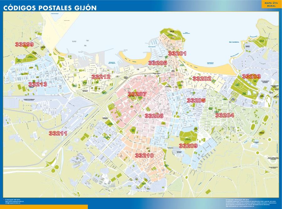 Códigos Postales Gijón