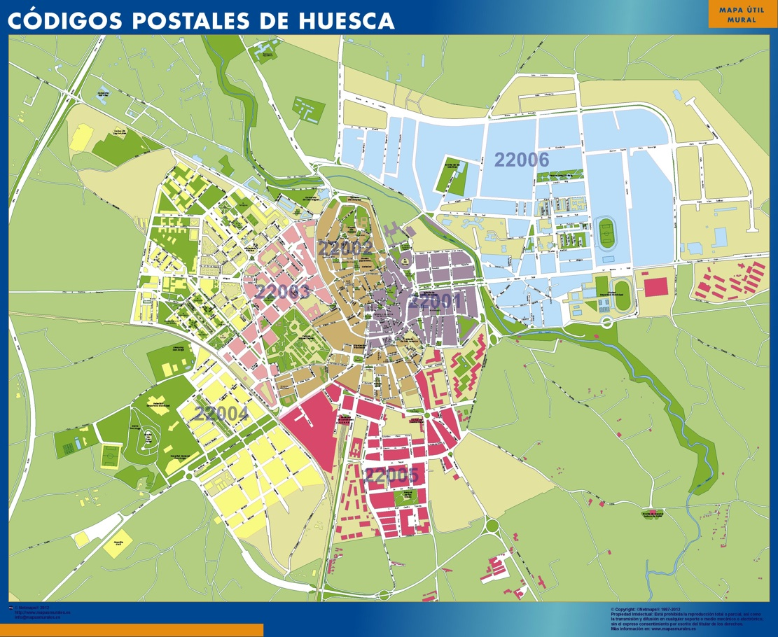 Códigos Postales Huesca