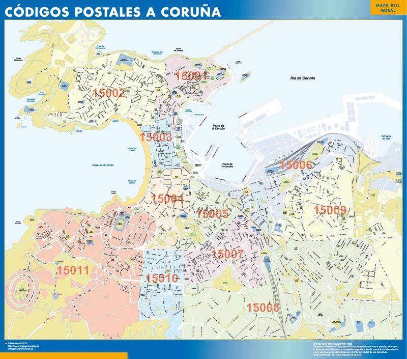 Códigos Postales A Coruña