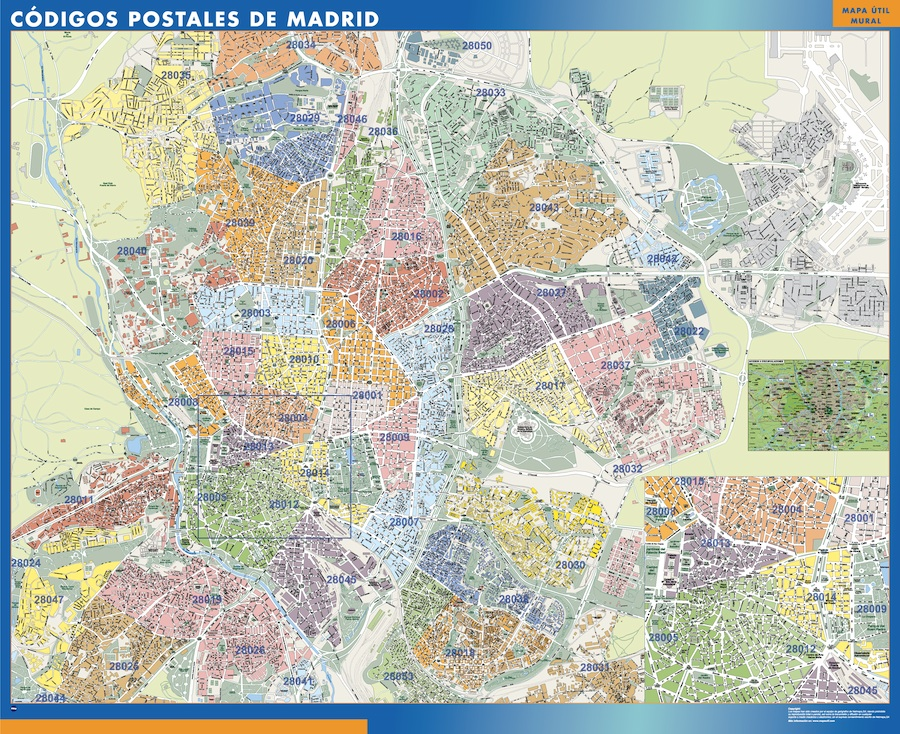 Madrid Códigos Postales