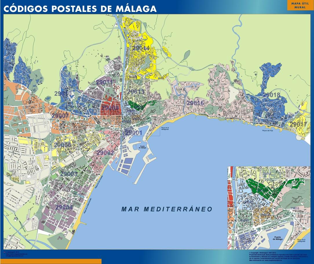 Códigos Postales Málaga