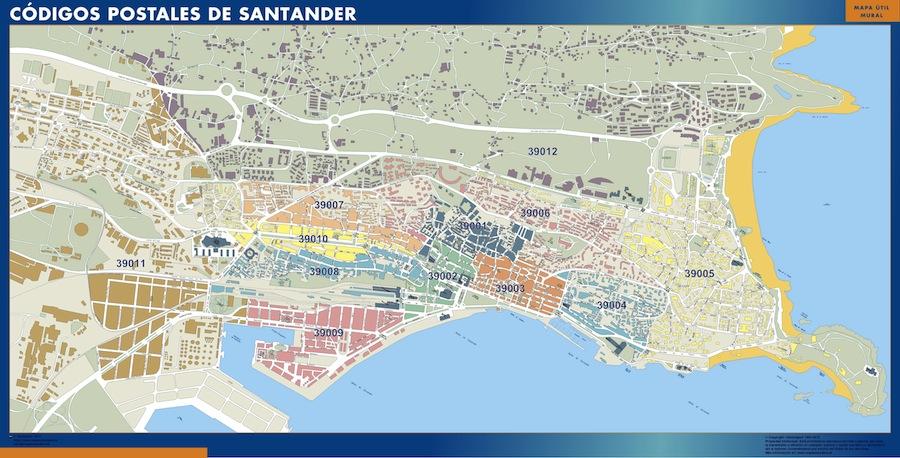 Códigos Postales Santander