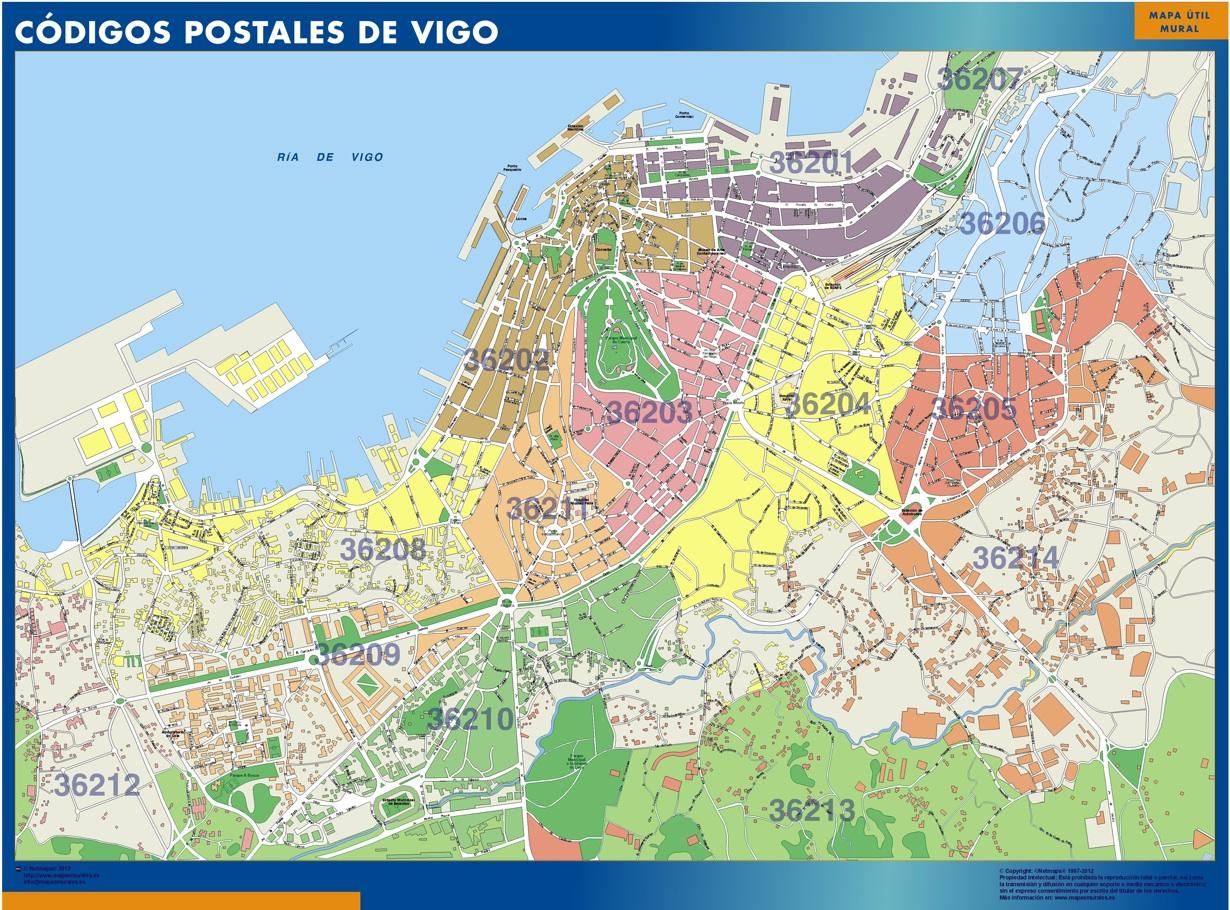 Códigos Postales Vigo