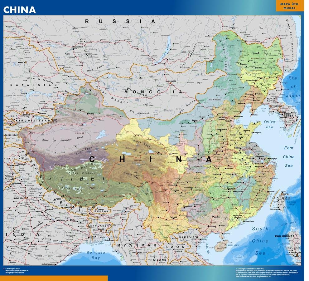 Mapa China