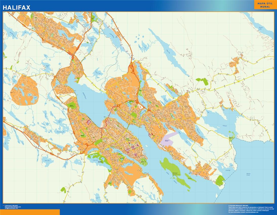 Mapa Halifax