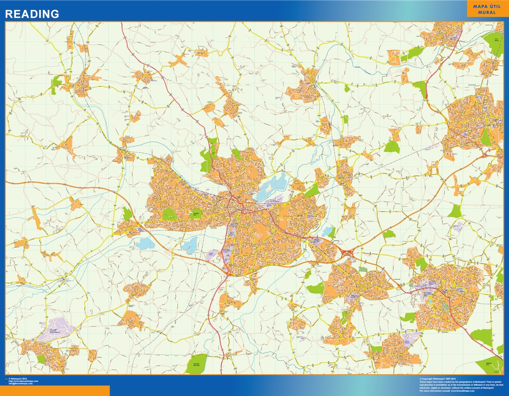 Mapa Reading