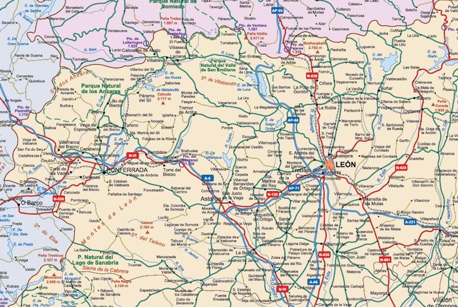 zoom mapa espana