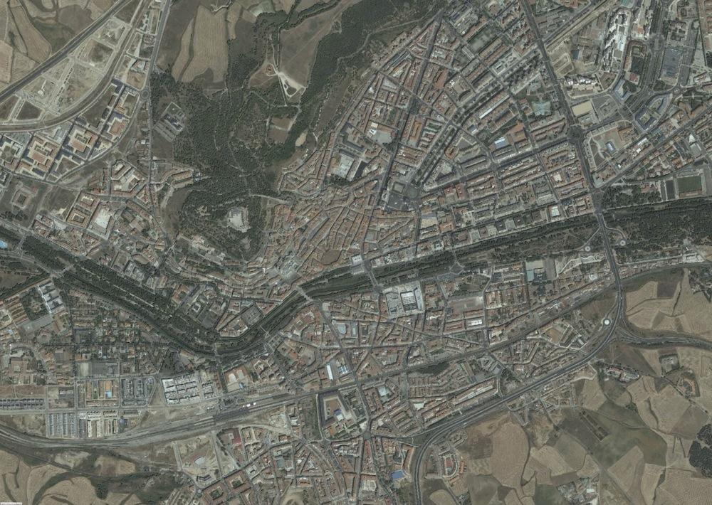 Burgos Foto Aerea