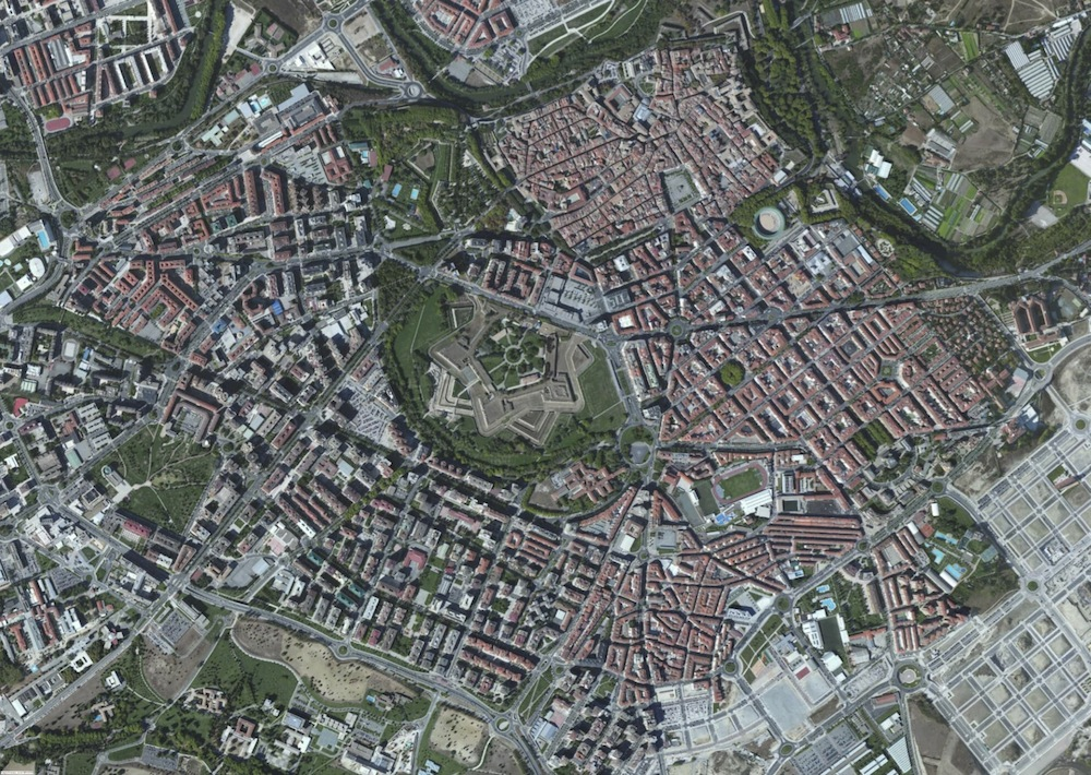 Pamplona Foto Aerea