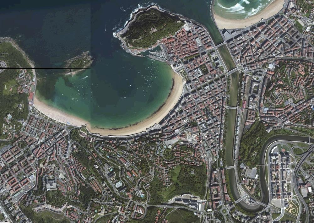 San Sebastian Foto Aerea