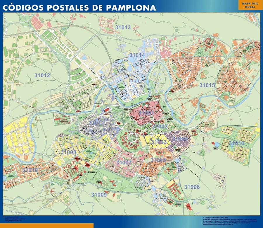 Pamplona Codigos Postales