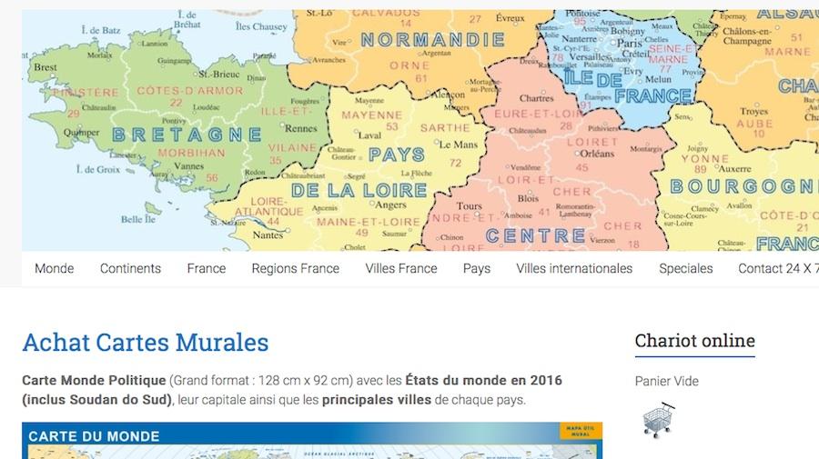 mapas Francia