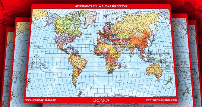mapa cronica global